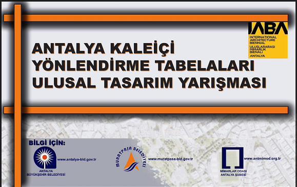 Antalya Kaleiçi Yönlendirme Tabelaları Tasarım Yarışması