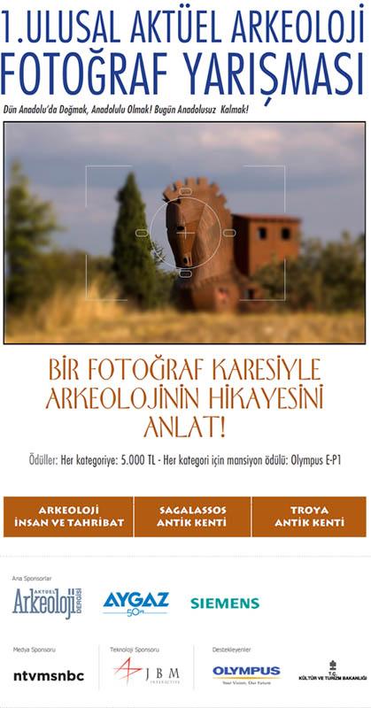 1. Ulusal Aktüel Arkeoloji Fotoğraf Yarışması