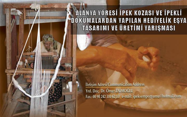 İpek Kozası ve İpekli Dokumalardan Yapılan Hediyelik Eşya Tasarımı Yarışması
