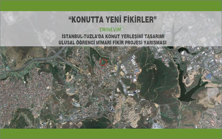 EminEvim – İstanbul Tuzla'da Konut Yerleşimi Tasarımı Mimari Proje Yarışması