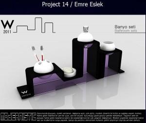 Üçüncü: Emre ESLEK - Mimar Sinan Güzel Sanatlar Üniversitesi - İç Mimarlık