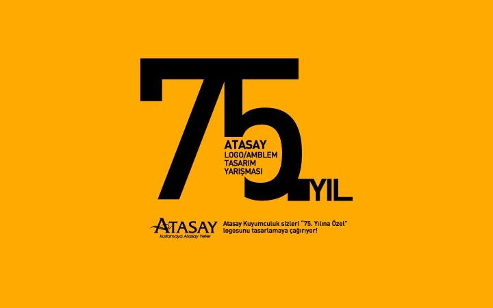 Atasay 75. Yıl Logo Tasarım Yarışması