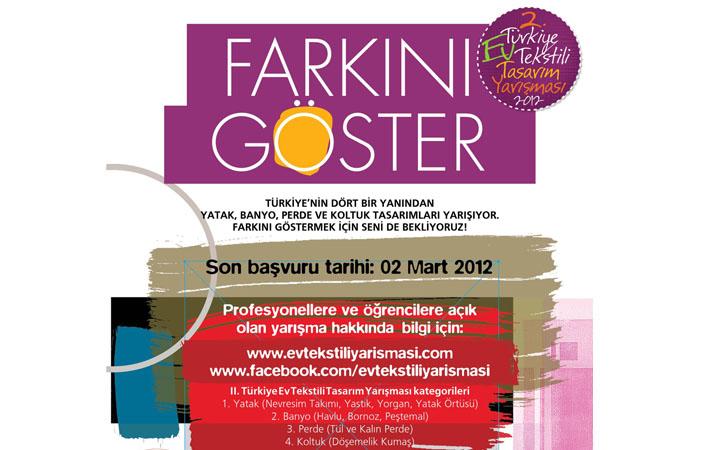 2. Türkiye Ev Tekstili Tasarım Yarışması 2011