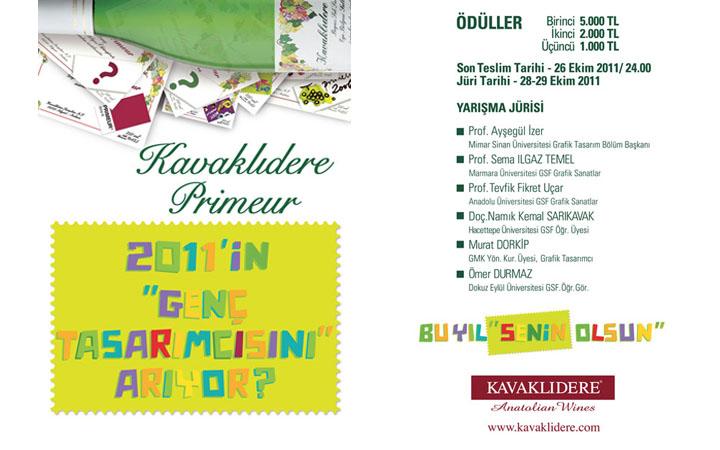 Kavaklıdere Primeur Tasarım Yarışması 2011