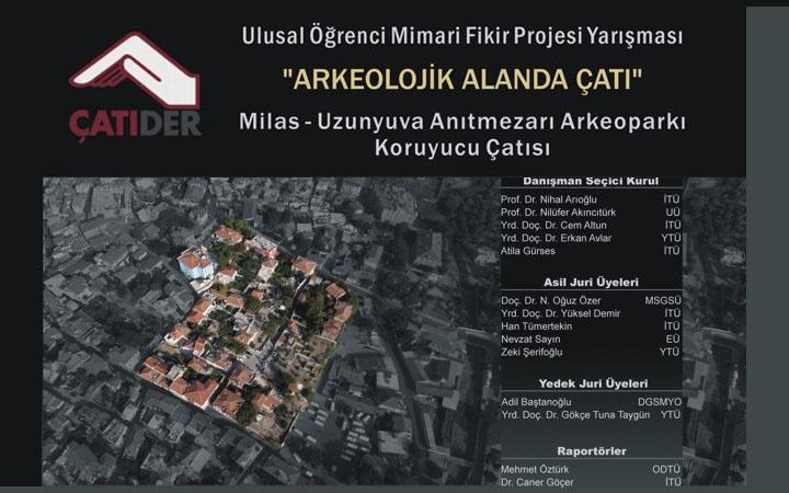 Çatıder – Ulusal Öğrenci Mimari Fikir Projesi Yarışması