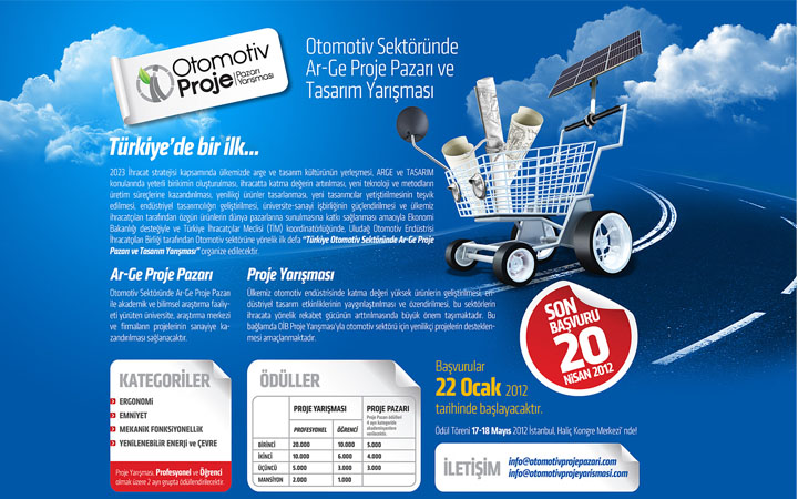 Türkiye Otomotiv Sektöründe AR-GE Proje Pazarı ve Tasarım Yarışması