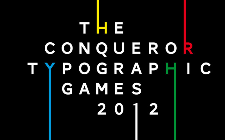 The Conqueror Typographic Games 2012