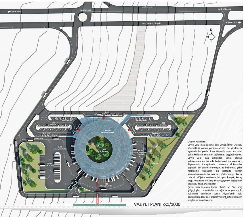 Uşak Belediyesi Otobüs Terminal Kompleksi Mimari Proje Yarışması Sonuçları