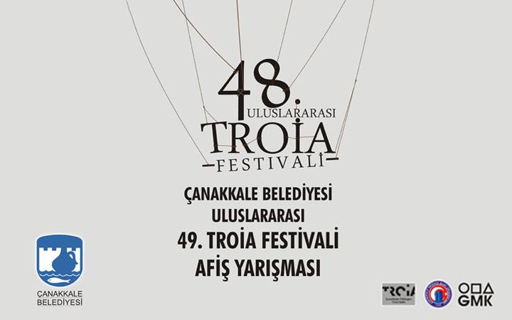 Uluslararası 49. Troia Festivali Afiş Tasarım Yarışması