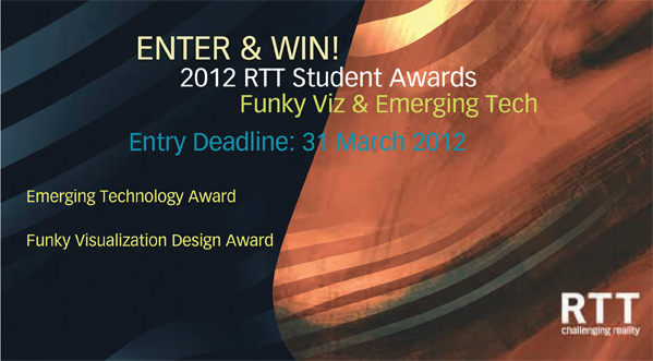2012 RTT Visualization Awards