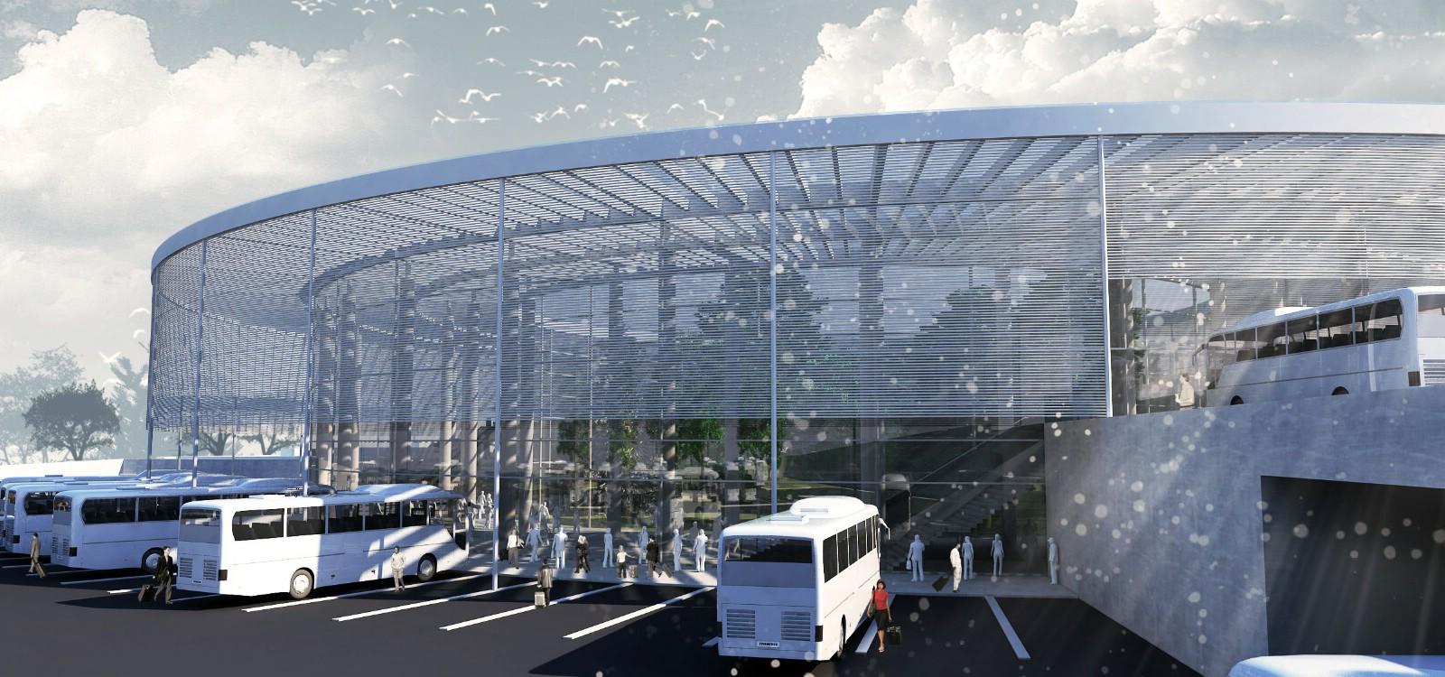 Uşak Belediyesi Otobüs Terminali Projesi Birinci Ekibi: İkikerebir