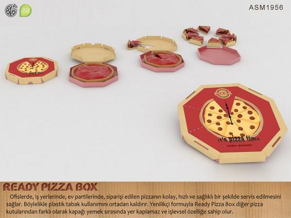 3.Ready Pizza Box
