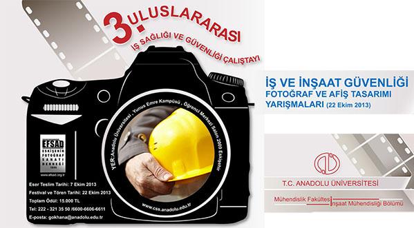 """""""İş Ve İnşaat Güvenliği"""" Temalı Fotoğraf Ve Afiş Tasarımı Yarışması"""