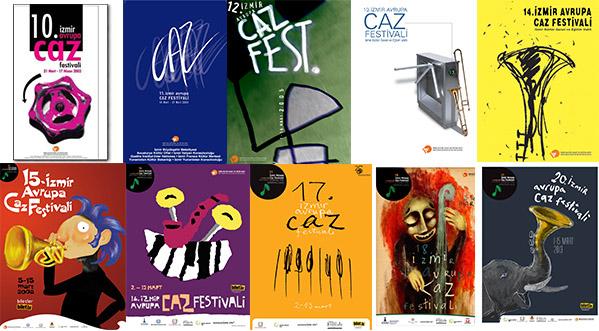 21. İzmir Avrupa Caz Festivali 12. Caz Afişi Tasarım Yarışması Hakkında Duyuru