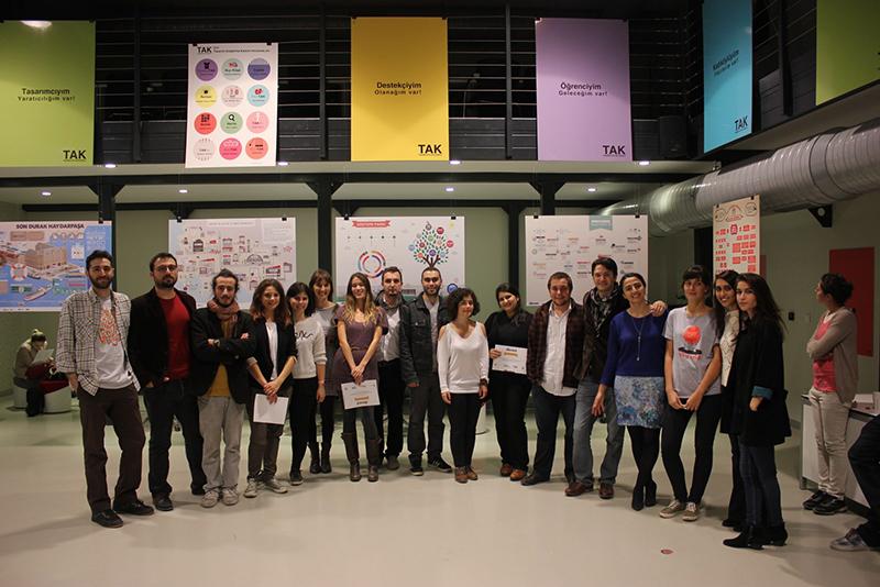 Şehrine Ses Ver İnfografik Tasarım Atölyesi 1 l Kadıköy Sergisi Açıldı