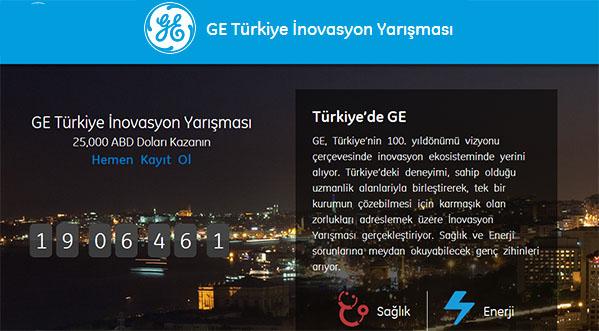 GE Türkiye İnovasyon Yarışması