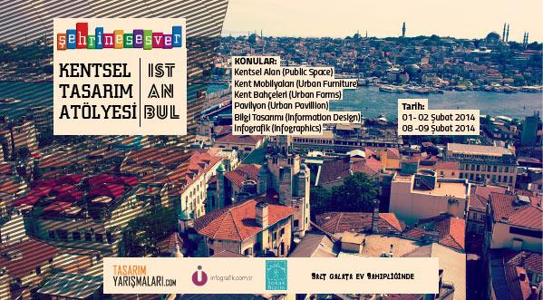 Şehrine Ses Ver Kentsel Tasarım Atölyesi | İstanbul
