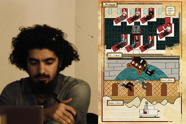 Geleneksel Sanatı, Dijitalle Birleştiren Genç Bir İllüstrator; Murat Palta
