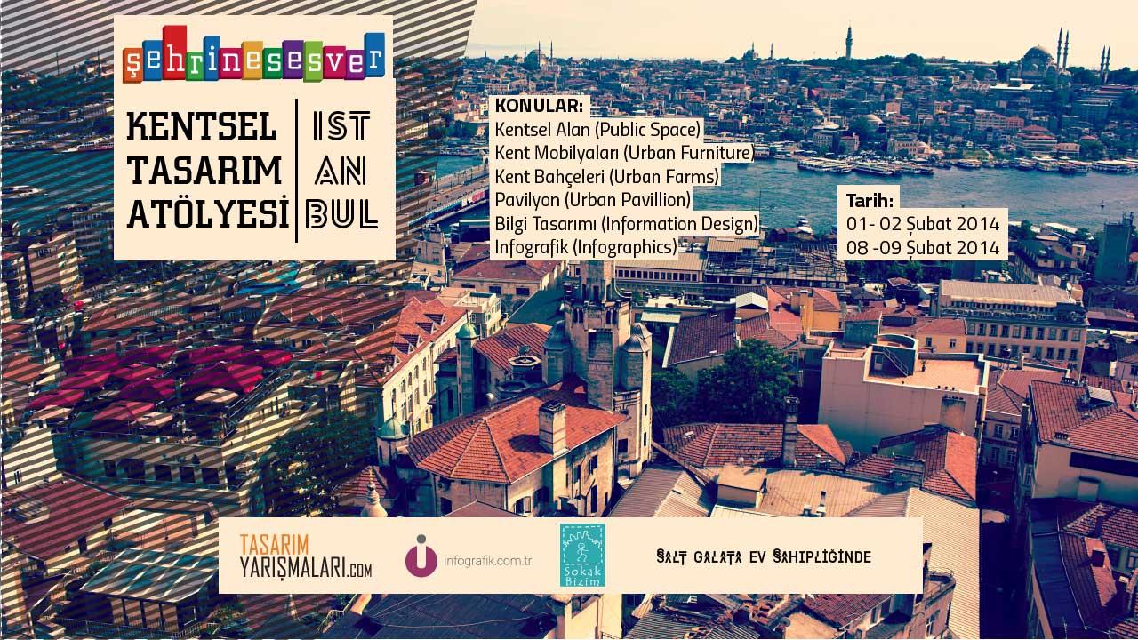 Şehrine Ses Ver Kentsel Tasarım Atölyesi | İstanbul Forumu ve Ürünleri