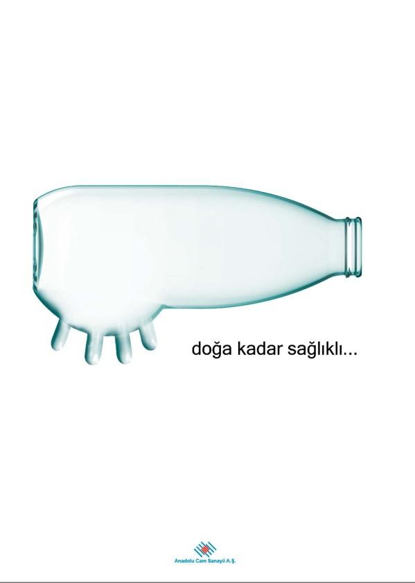 2. Anadolu Cam Afiş Tasarım Yarışması Mansiyon: Meltem İşleyen