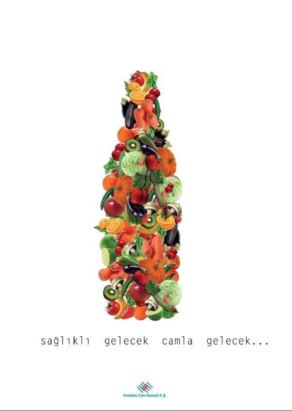 2. Anadolu Cam Afiş Tasarım Yarışması Üçüncüsü: Sema Gürsoy