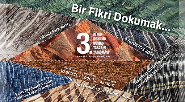 ATHİB 3. Dokuma Kumaş Tasarım Yarışması