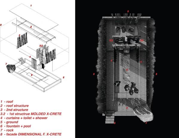 Tanju Coşkun_Beton Tasarım Yarışması ikincilik ödülü