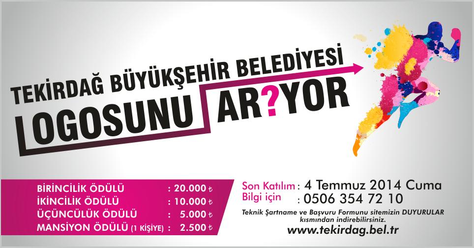 Tekirdağ Büyükşehir Belediyesi Kurumsal Logo Yarışması