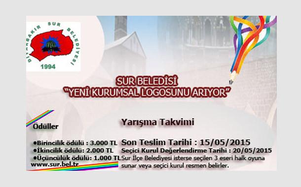 Diyarbakır/ Sur İlçe Belediyesi Logo Tasarım Yarışması