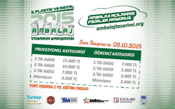 2. Plastik ve Metal Ambalaj Tasarım Yarışması