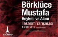"""İzmir Büyükşehir Belediyesi """"Börklüce Mustafa Heykeli ve Alanı"""" Tasarım Yarışması"""