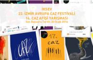 23. Uluslararası İzmir Avrupa Caz Festivali Afişi Yarışması Sonuçlandı