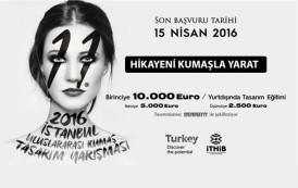 11. İstanbul 2016 Uluslararası Kumaş Tasarım Yarışması 1. Aşaması Sonuçları Açıklandı