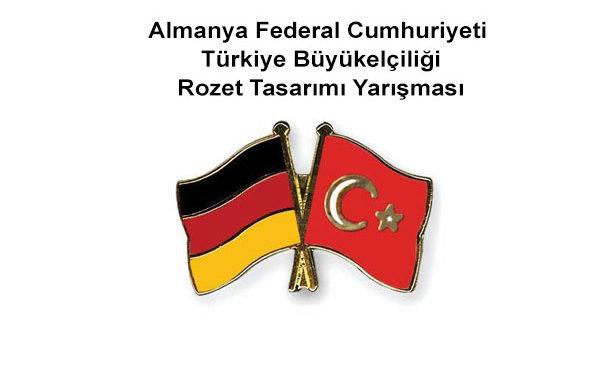 Almanya Federal Cumhuriyeti  Türkiye Büyükelçiliği Rozet Tasarımı Yarışması