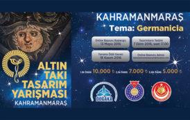 Doğu Akdeniz Kalkınma Ajansı Altın Takı Tasarım Yarışması