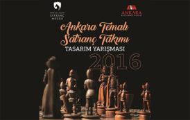 Ankara Temalı Satranç Takımı Tasarım Yarışması Sonuçlandı