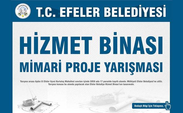 Efeler Belediyesi Hizmet Binası Mimari Proje Yarışması