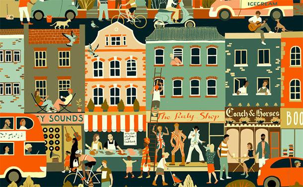 Sounds of the City (Şehrin Sesleri) İllüstrasyon Tasarım Yarışması