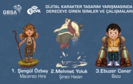 Dijital Karakter Tasarım Yarışması Sonuçlandı