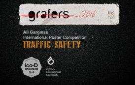 """Ali Gargınsu """"Trafik Güvenliği Konulu"""" Uluslararası Poster Tasarım Yarışması"""