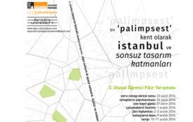 Bir Palimpsest Kent Olarak İstanbul 3. Ulusal Öğrenci Fikir Yarışması