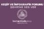 Bomonti Keşif ve İnfografik Atölyesi Sergisi 1 Ekim-10 Ekim arası bomontiada avlu'da