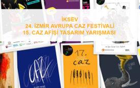 24. Uluslararası İzmir Avrupa Caz Festivali Afiş Tasarım Yarışmasında Kazananlar Belli Oldu