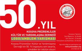 Kosova Prizrenliler Kültür ve Yardımlaşma Derneği 50. Yıl Logo Yarışması Sonuçlandı