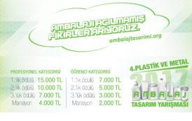 4. Plastik ve Metal Ambalaj Tasarım Yarışmasında Dereceye Giren Projeler Belli Oldu
