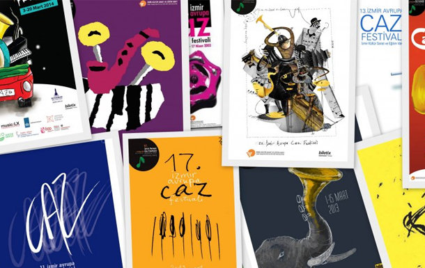 İKSEV 16. Caz Afiş Tasarım Yarışmasının Kazananları Belli Oldu