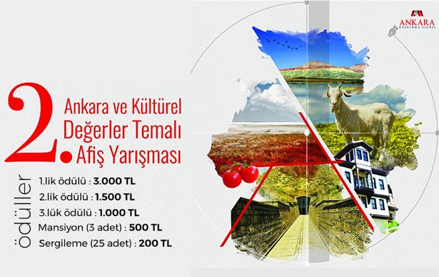2. Ankara ve Kültürel Değerler Temalı Afiş Yarışması