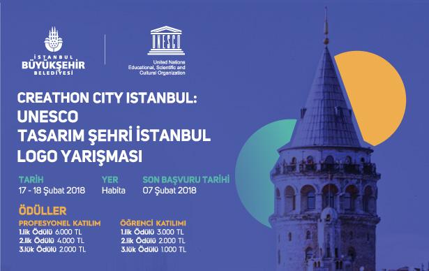 Creathon City İstanbul: UNESCO Tasarım Şehri İstanbul Logo Yarışması