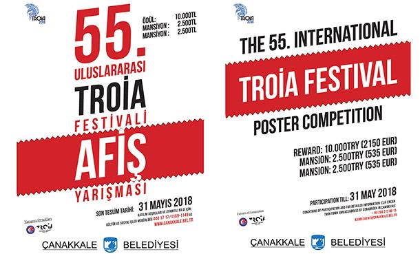 55. Uluslararası Troia Festivali Afiş Yarışması