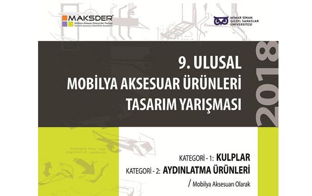 MAKSDER 9. Mobilya Aksesuar Ürünleri Tasarım Yarışması